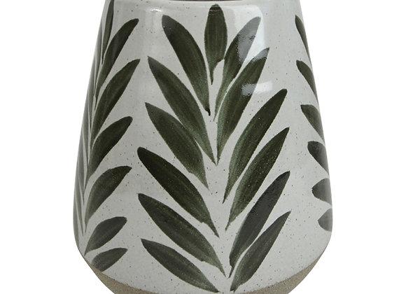 Green Natural Ceramic Vase