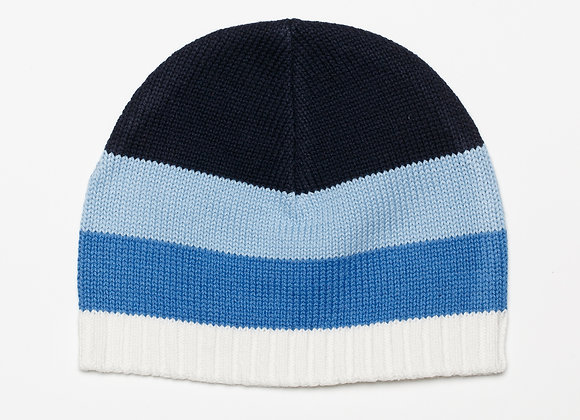 Emotion & Kids - Blue Thick Stripe Knitted Hat