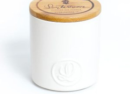 PASTEL – 14.5OZ SOY WAX CANDLE – WHITE COCONUT & JASMINE