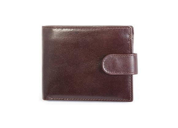 Leather Wallet - Cognac