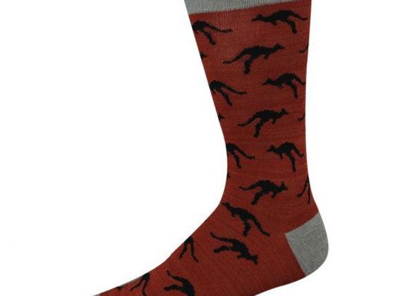 Bamboozld Men's Sock -Kangaroo