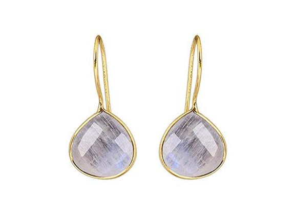 Susan Rose - Alisha Moonstone Gold Earring