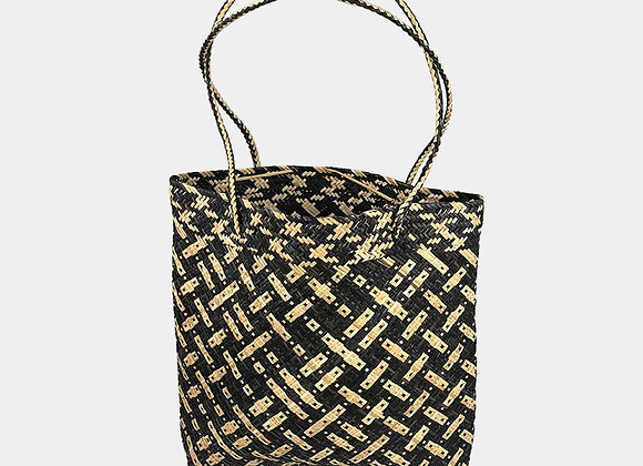 Palma black/natural bag