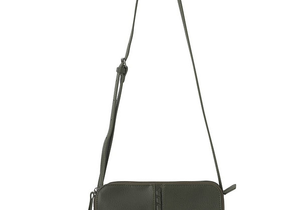 Black Caviar - Pia Crossbody Bag - Olive