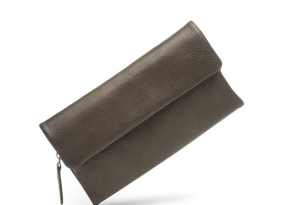 Dusky Robin Leather - Chloe Purse OLIVE