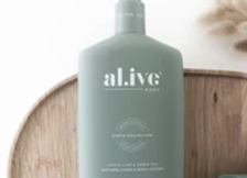 al.ive - Hand & Body Lotion - Kaffir Lime & Green Tea