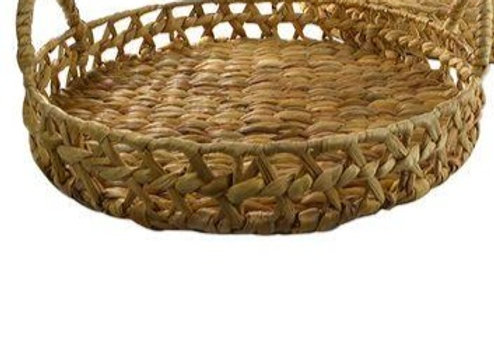 Woven Tray Natural - large