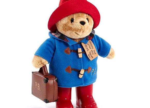 Paddington Bear with Boots, Jacket & Suitcase