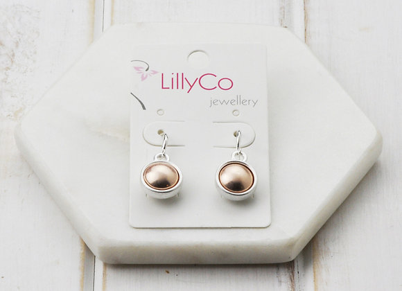 LillyCo - Mixed Matt Plated Earring