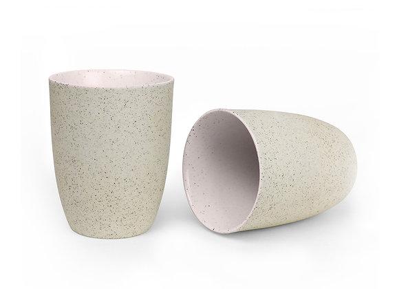 Robert Gordon - Latte Cups Set of 2 - Pink Granite