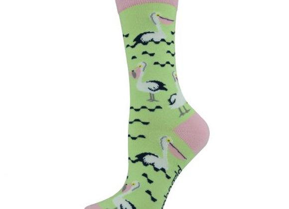 Bamboozld Ladies Sock -Pelican