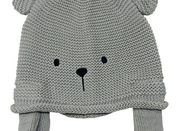 Emotion & Kids - Grey Teddy Hat
