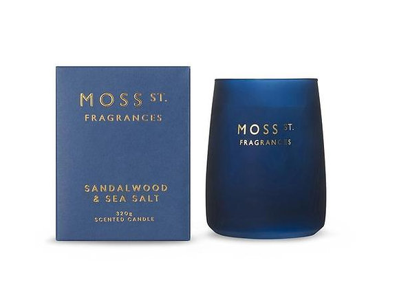 Moss St - Sandalwood & Seasalt Candle