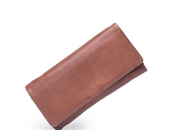 Dusky Robin Leather - Kieva Purse BROWN
