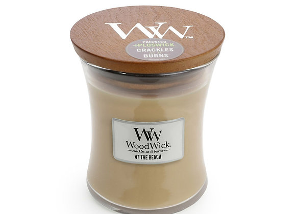 Woodwick Candle At the Beach -Medium