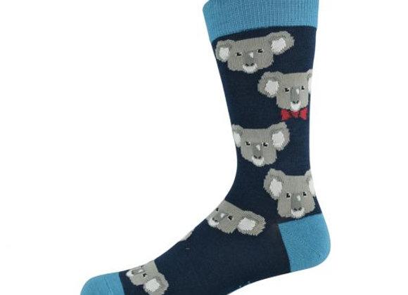 Bamboozld Men's Sock -Koala