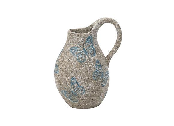 Ceramic Butterfly Jug Small