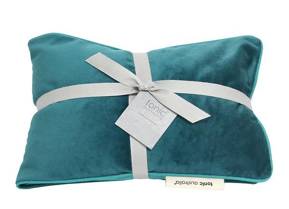 Luxe Velvet Heat Pillow Teal