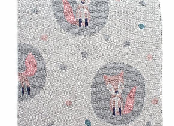 Indus Cotton Blanket Foxy Lady