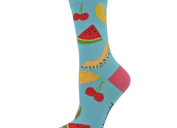 Bamboozld Ladies Sock -Fruit Salad