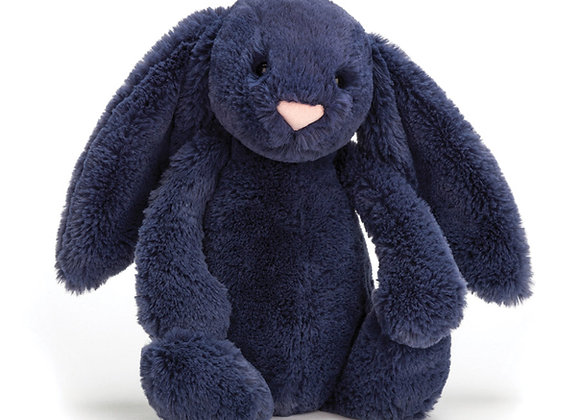 Jellycat Bashful Bunny Medium -Navy