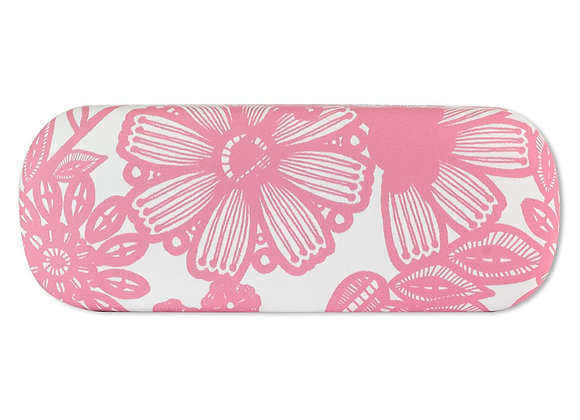 Glasses Case -Pink Flora