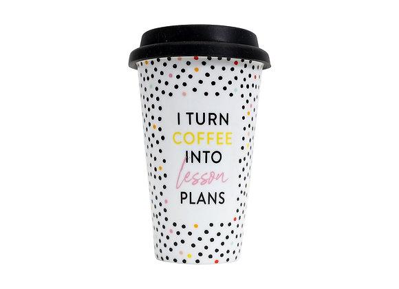 Teacher Coffee Travel Mug