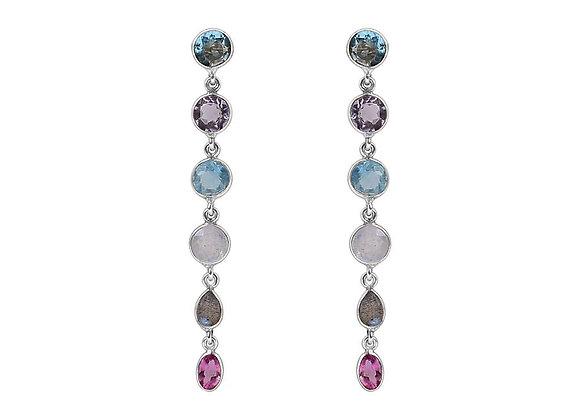 Susan Rose - Heiress Earring Silver