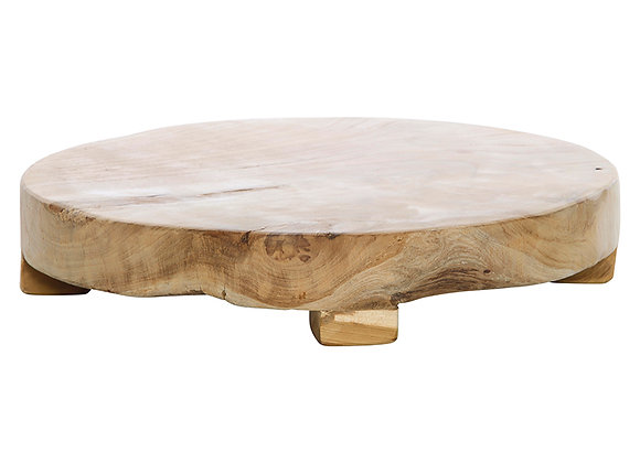 Teak Wood Round Board medium