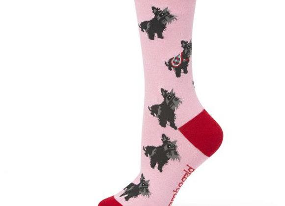 Bamboozld Ladies Sock -Scotty Dog