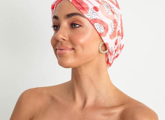 Louvelle - Amelie Shower Cap -Peach Papaya