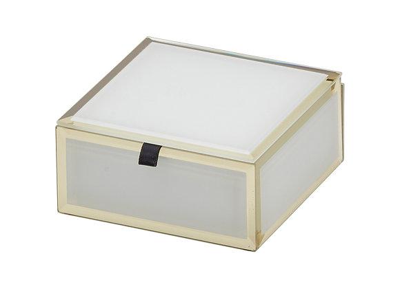 White Small Jewellery Box