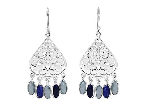 Susan Rose - Indian Dreaming Earring Silver