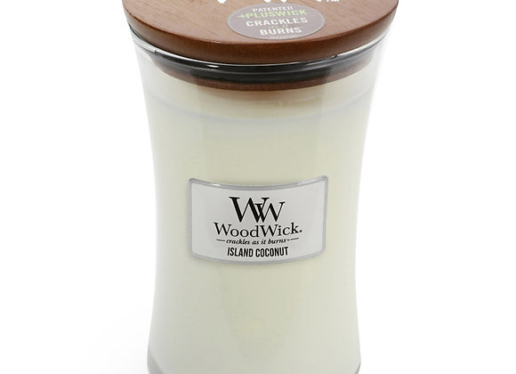 Woodwick Candle Island Coconut - Large