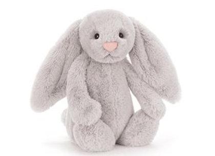 Jellycat Bashful Bunny Small - Silver