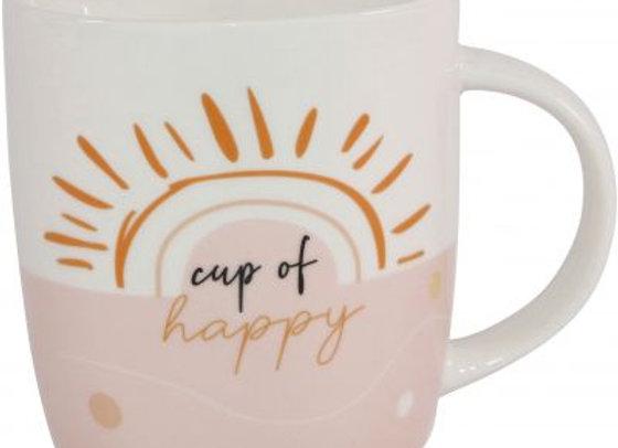 Cup Of Happy Mug - Gift Boxed