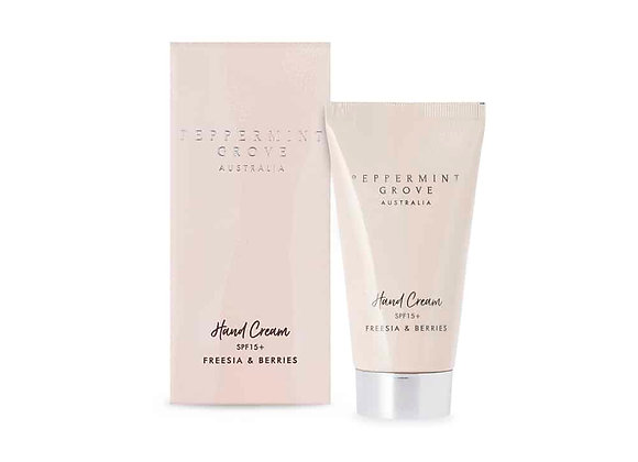 Peppermint Grove - Freesia & Berries Hand Cream Tube 75ml