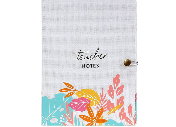Teacher Colourful Notepad