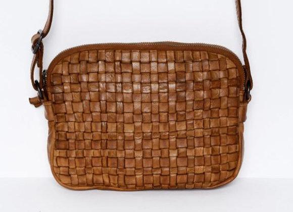 Rugged Hide Divya Leather Cross Body Bag - Tan