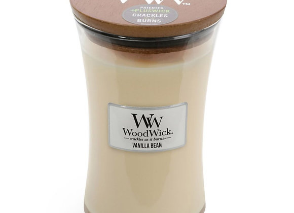 Woodwick Candle Vanilla Bean - Large
