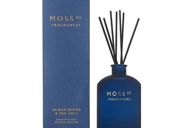Moss St - Sandalwood & Seasalt Diffuser