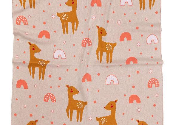 Indus Cotton Blanket - Bambi