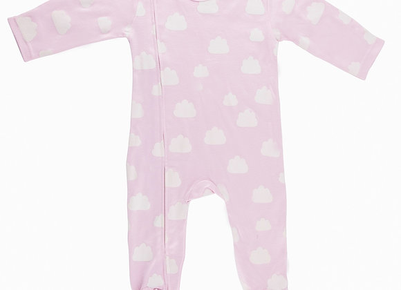 Emotion & Kids - Pink Cloud Footed Outfit