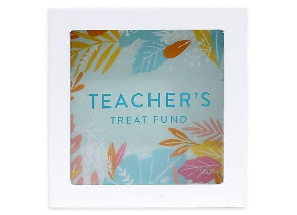 Teachers Treat Fund Change Box