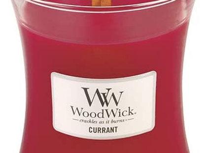 Woodwick Candle Currant  -Medium