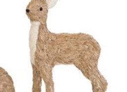 Sisal Standing Reindeer