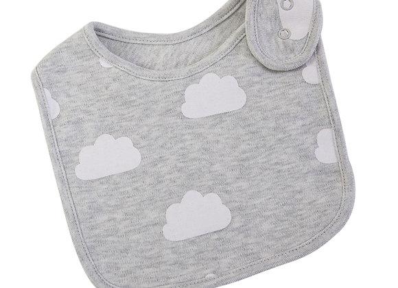 Emotion & Kids - Grey Cloud Bib