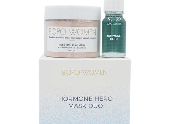 Bopo Women - Hormone Hero Mask Duo
