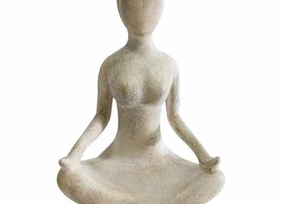 Yogi Lady Resin Sculpture - Large