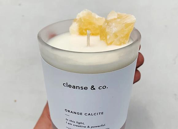 cleanse & co - Orange Calcite